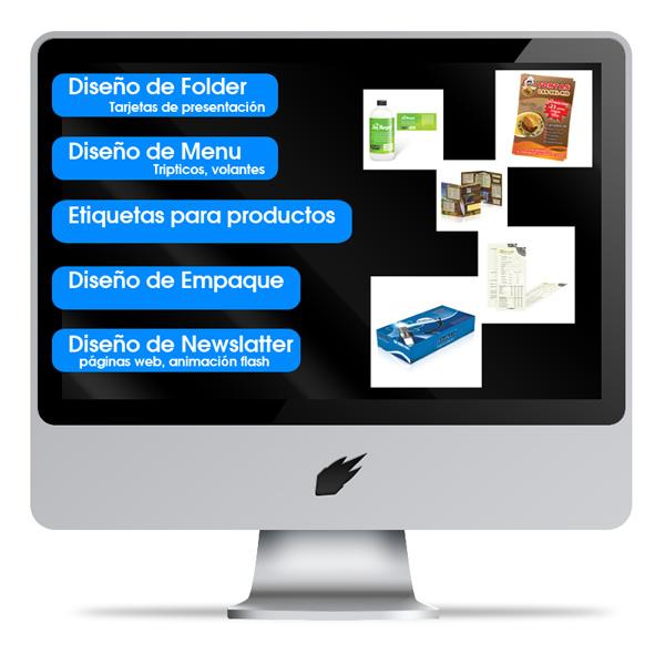 Servicios  de diseño gráfico.