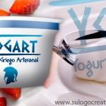diseño de logo para un nuevo yogurt