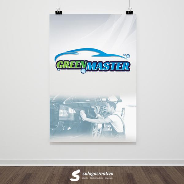 Green Master limpiador ecol�gico sin agua para autos