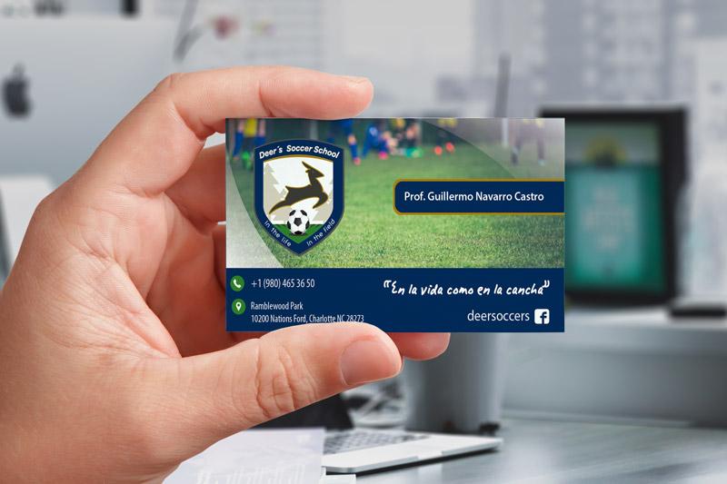 Tarjetas Escuela Futbol