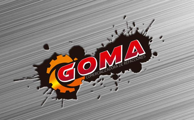 Logotipo Comercializadora de Refacciones para autos y motos