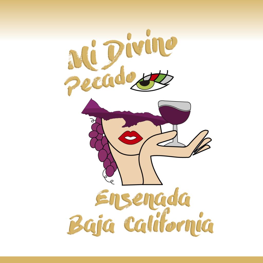 Logotipo e ilustración para Ensenada Baja California