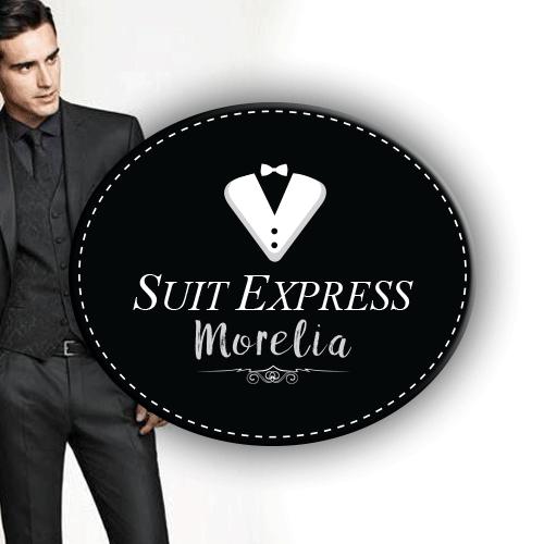 Diseño de logotipo para Suit Express renta de trajes para hombre en Morelia Michoacán.