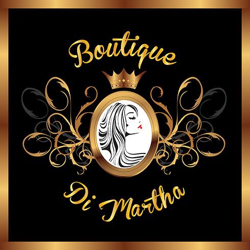 Diseño de logotipo para Boutique en linea de tienda de ropa para mujer vintage.