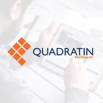 Logo Agencia de noticias Quadratin