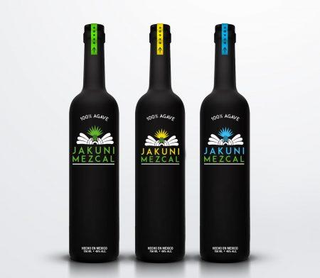 Etiqueta para botella de Mezcal