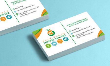 Diseño de tarjetas de presentación e impresión