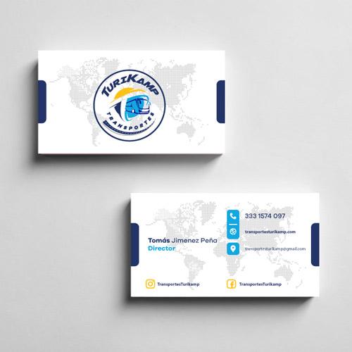 Diseño de tarjetas de presentacion