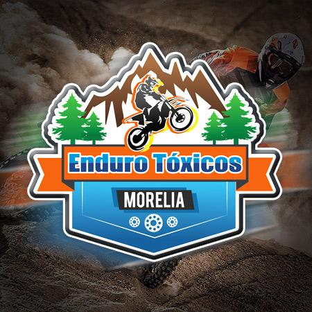 Logotipo enduro en Morelia