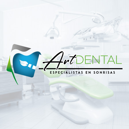 arte dental logotipo