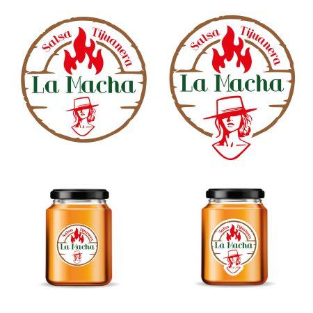 Logotipo para Salsa Tijuanera y etiqueta