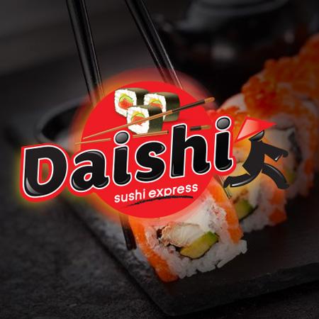Daishi sushi express restaurant en Morelia, Michoacán.
